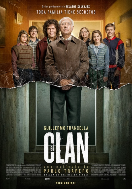 POSTER VERTICAL - EL CLAN