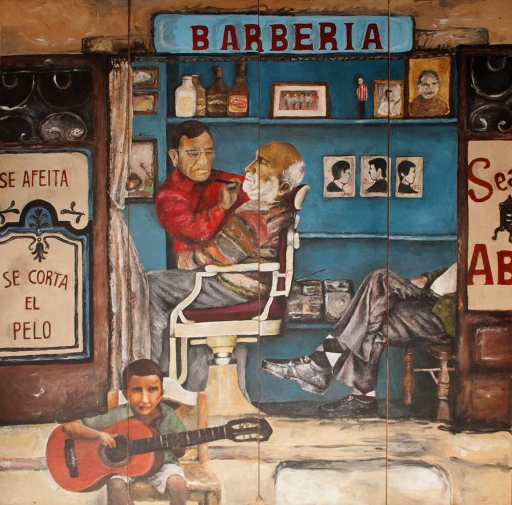 Barbería muro