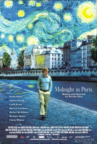 Midnight in Paris de Woody Allen.