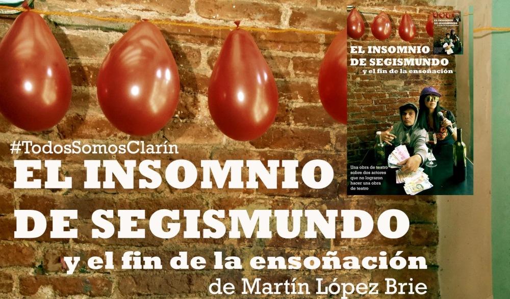 El insomnio de Segismundo, Teatro de Quimeras. Foto: Facebook