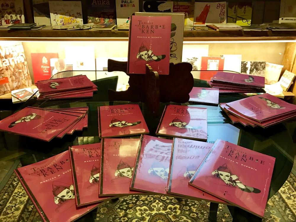 Tangos para Barbie y Ken de Maritza M. Buendía, Textofilia. Foto: Majo Ramírez.