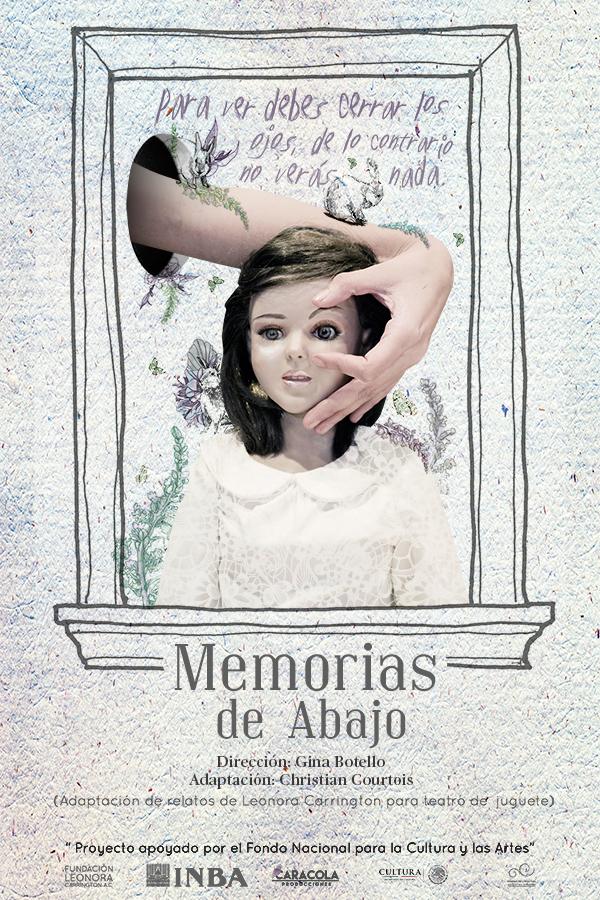 Memorias de abajo. Dirección GIna Botello